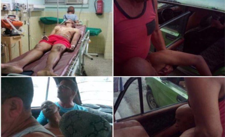 Fariñas al hospital luego de 29 días de huelga de hambre