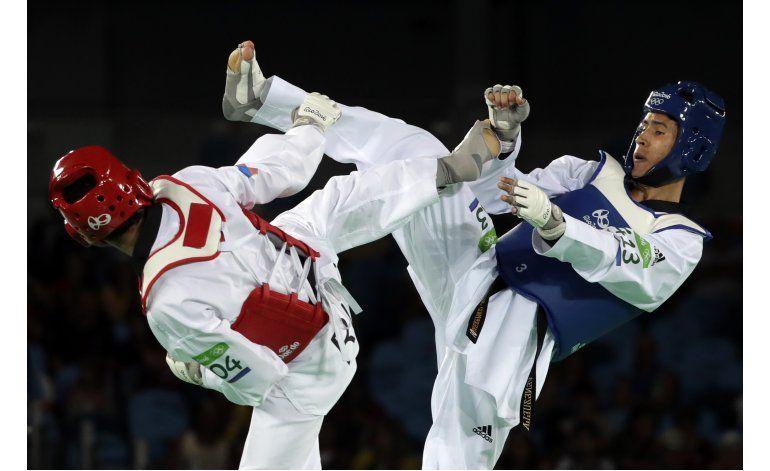 Venezolano Contreras pierde pelea por el bronce en taekwondo