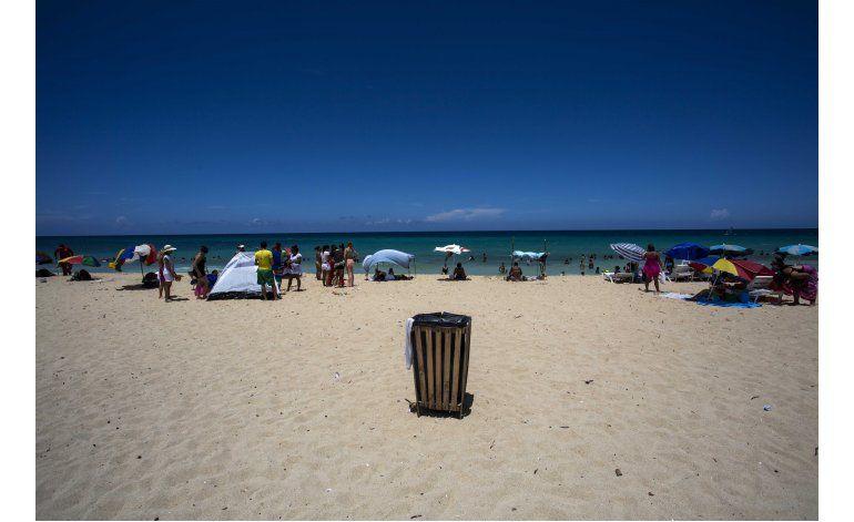 Basura en la playa, un desafío para Cuba de cara al turismo