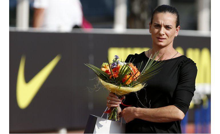 Isinbayeva, dueña del récord de pértiga, anuncia su retiro
