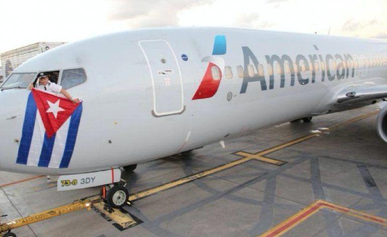 American Airlines podrá efectuar 56 vuelos semanales a Cuba