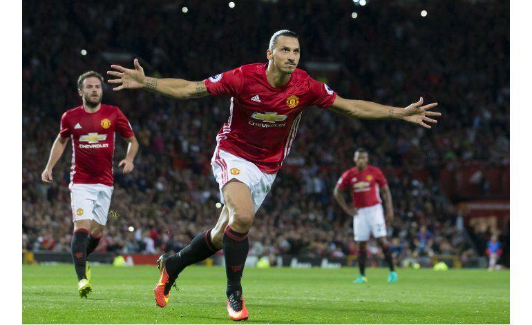 Ibra y Pogba lanzan al United en la Premier