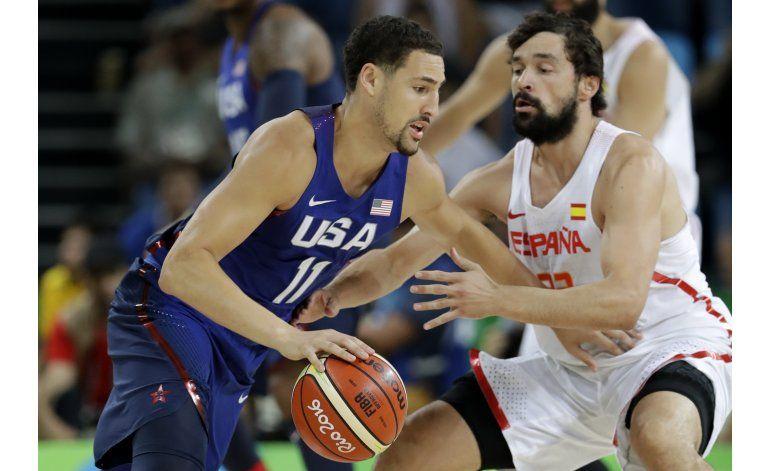 Estados Unidos vence a España y alcanza su 3ra final seguida