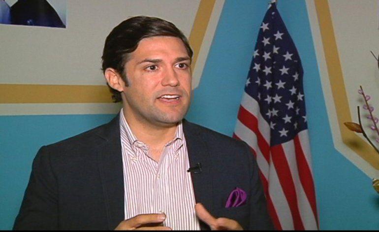 Entrevista exclusiva con el candidato por el condado Miami Dade Alfred Santamaría