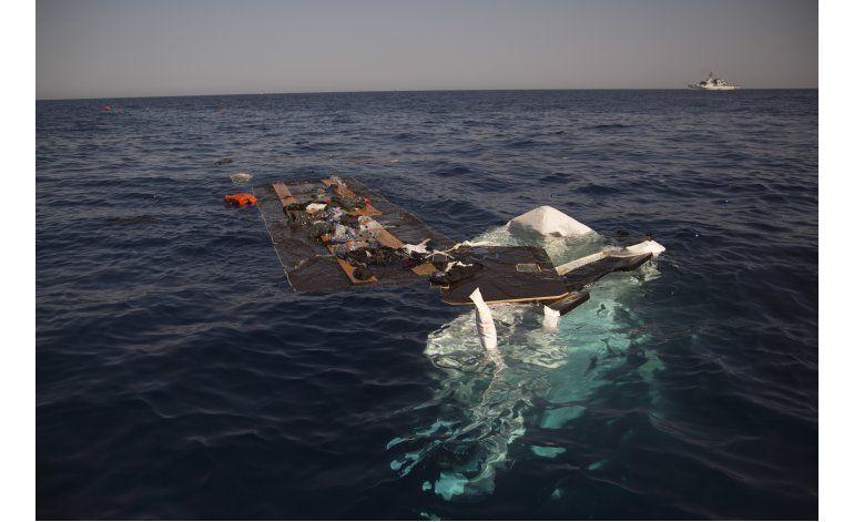 Siete muertos al naufragar barco frente a costas de Libia