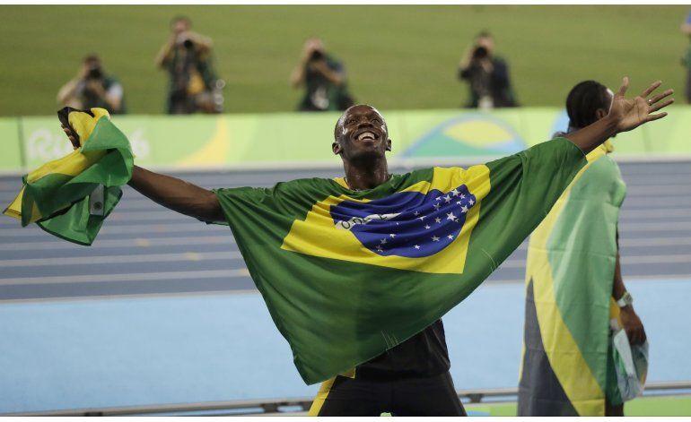 Bolt se va por la puerta grande