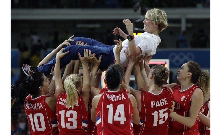 EEUU vence a España y gana oro en básquet de mujeres en Río