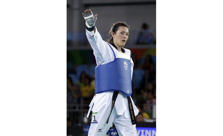 Mexicana Espinoza  gana plata en taekwondo