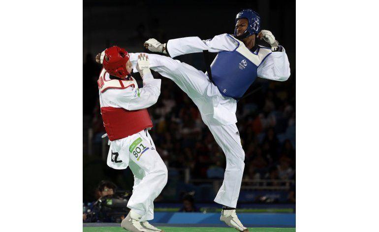 Cubano Castillo cae en cuartos de taekwondo; sin repechaje