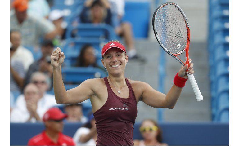 Kerber se pone a una victoria del número 1 del ranking