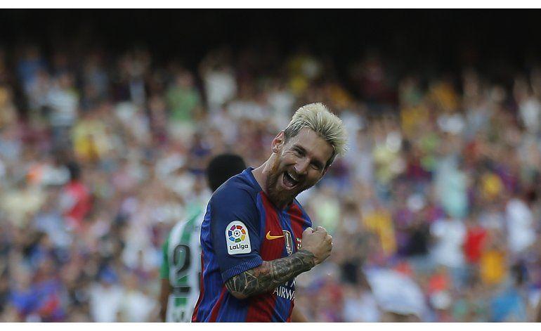 Suárez y Messi despachan 5 goles, Barcelona arrasa