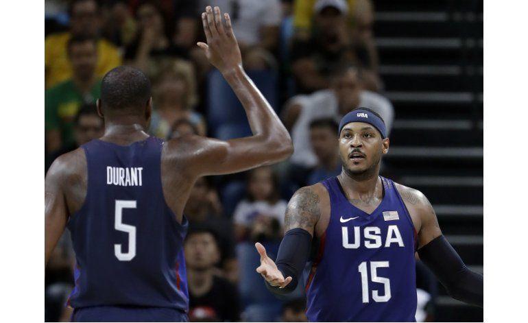 Estados Unidos, oro o nada en básquetbol en cierre de Río