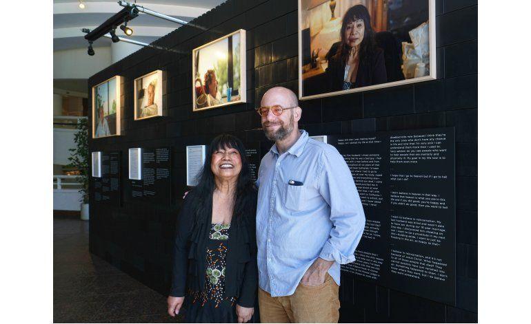 Museo de LA exhibe imágenes de personas a punto de morir