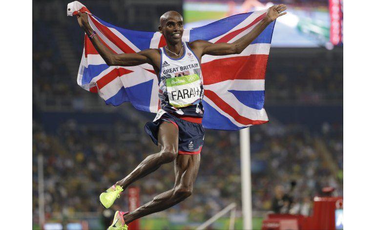 Más allá de Bolt, repitió Farah y emergió Miller