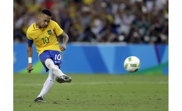 Neymar responde con la selección y gana el oro olímpico