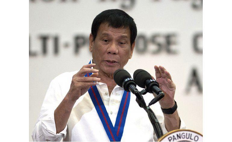 Duterte amenaza con retirar a Filipinas de la ONU