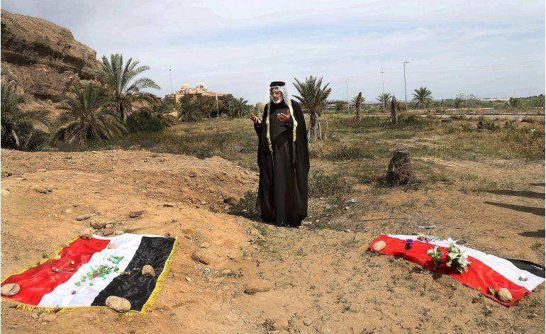 Irak ejecuta 36 hombres condenados por masacre de EI