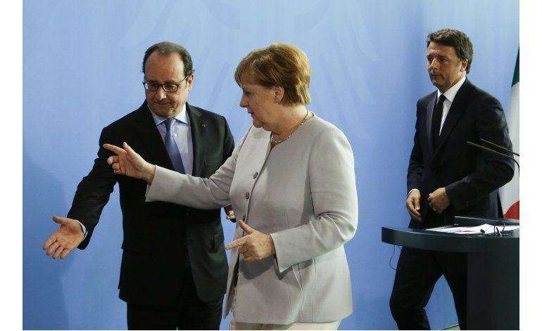 Italia promueve cumbre para relanzar la Unión Europea