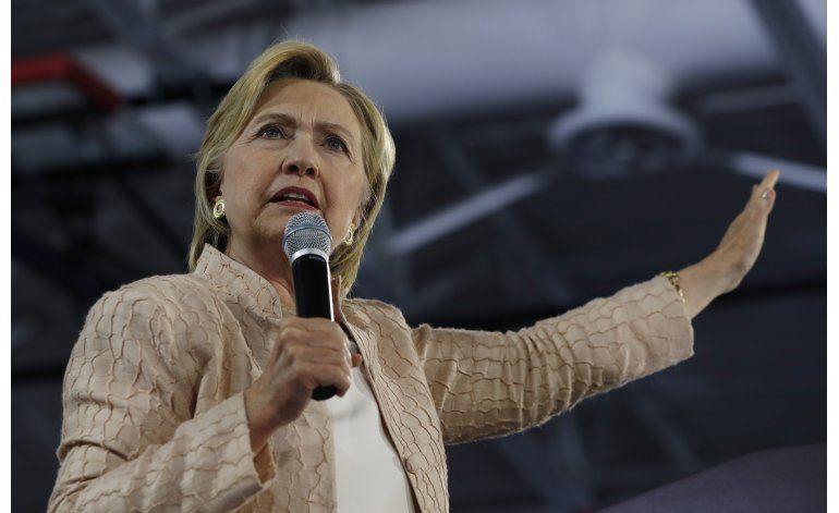 LO ÚLTIMO: Clinton ha recaudado 500 millones de dólares
