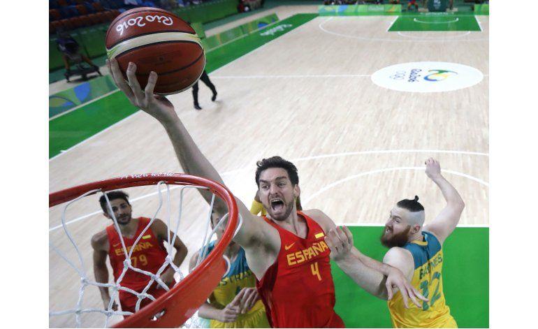 España se queda con el bronce en básquetbol olímpico