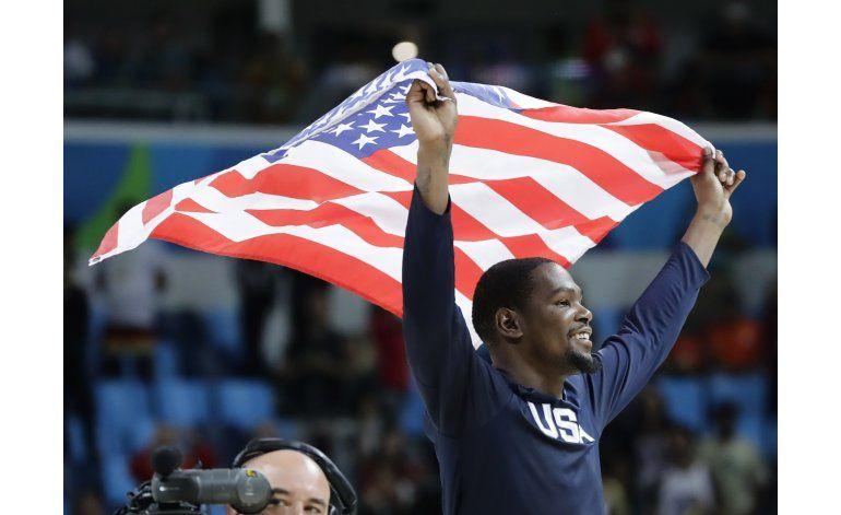 Estados Unidos gana el oro en básquetbol olímpico
