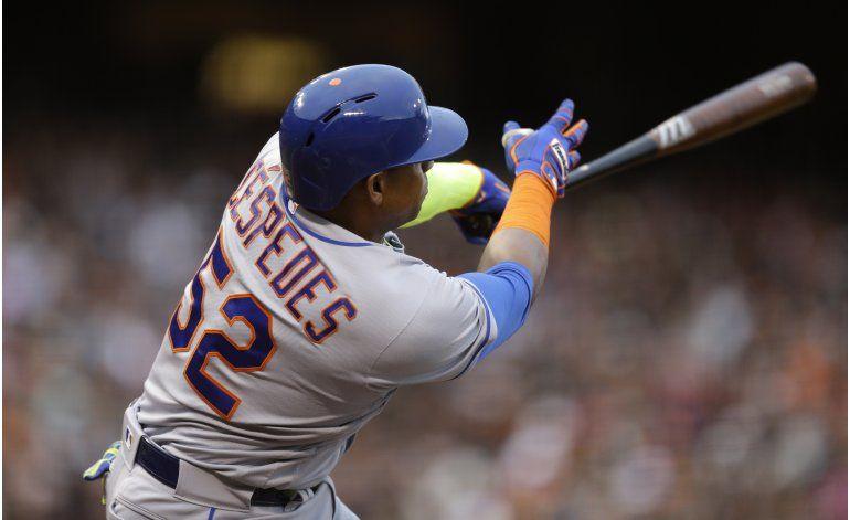 Syndergaard y Céspedes encaminan triunfo 2-0 de Mets ante SF