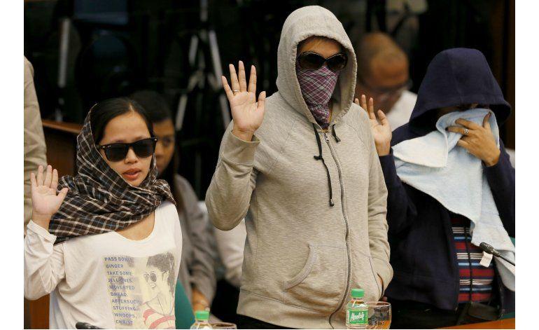 Senadores filipinos investigan muertes en plan antidroga