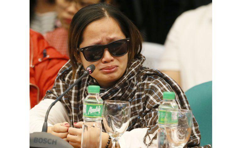 Senado filipino investiga muertes en operaciones antidrogas