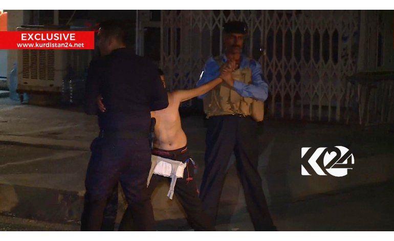 Irak arresta a niño suicida; le desactiva cinturón explosivo