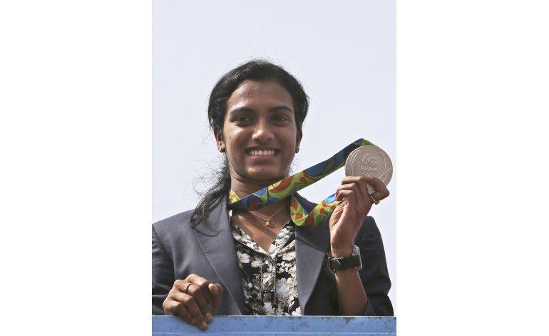 India ofrece gran recibimiento a medallista en Río Sindhu