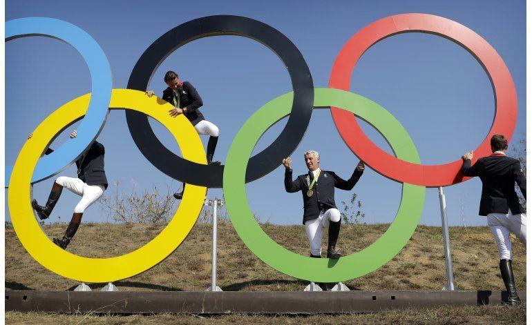 Francia homenajea a sus campeones olímpicos