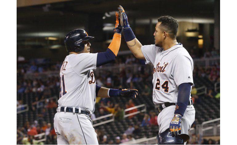 Maybin y Sánchez comandan triunfo de Tigres sobre Mellizos