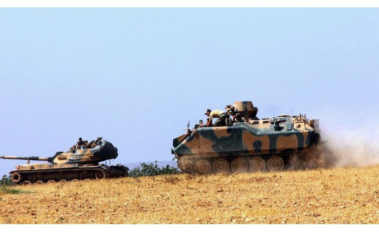 LO ULTIMO: Damasco critica la incursión turca en Siria