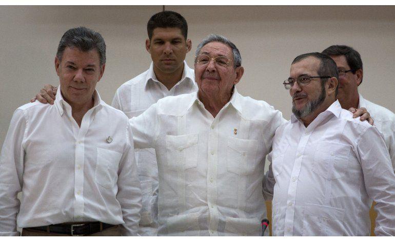 Colombia y las FARC logran acuerdo de paz