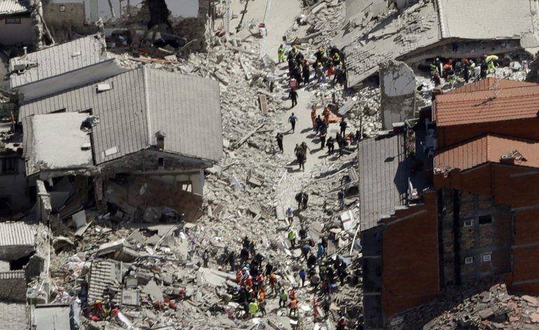 Terremoto en Italia: 10 fotos aéreas de la destrucción