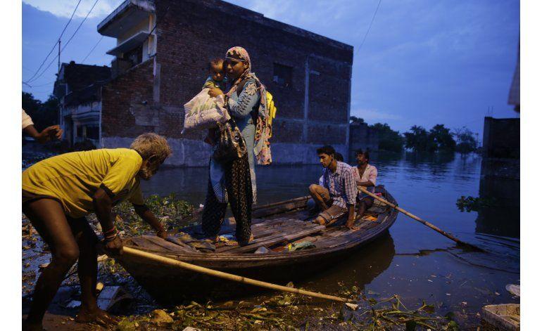 India: mueren al menos 175 en las inundaciones de verano