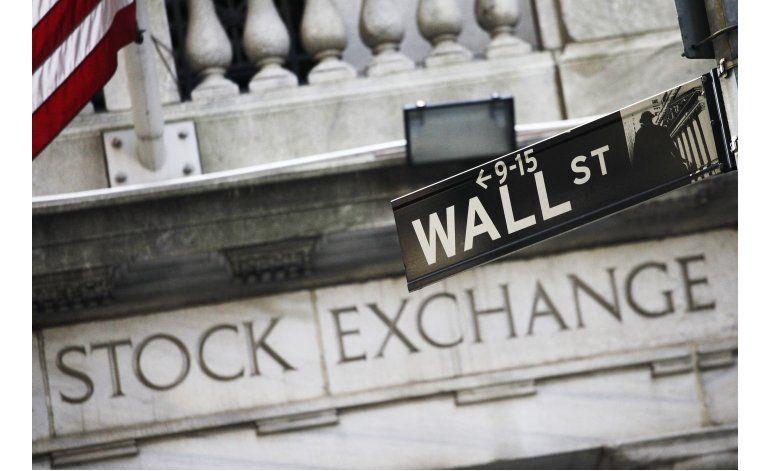Wall Street cierra en baja, encabezada por acciones de salud