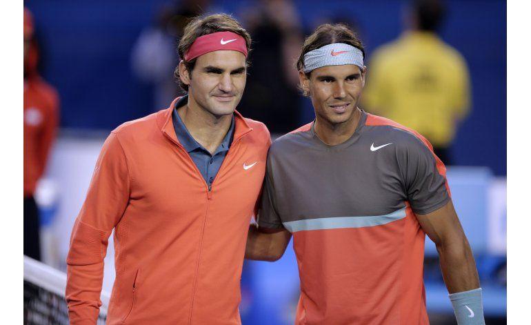 Federer y Nadal harán pareja en dobles para la Copa Laver
