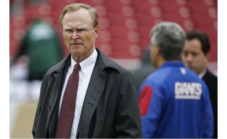 Dueño de Giants cómodo con suspensión a Josh Brown