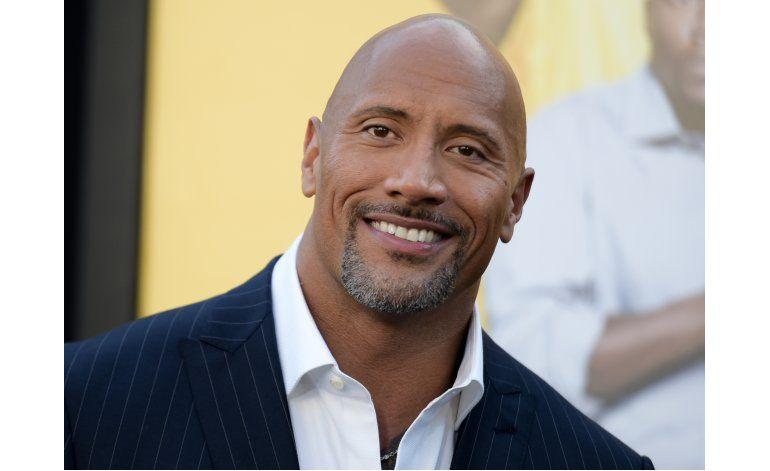 Forbes: Dwayne Johnson es el actor mejor pagado