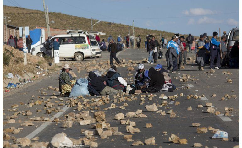 Mineros en huelga matan a viceministro en Bolivia