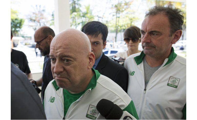 Policía de Río interroga a ejecutivos olímpicos irlandeses