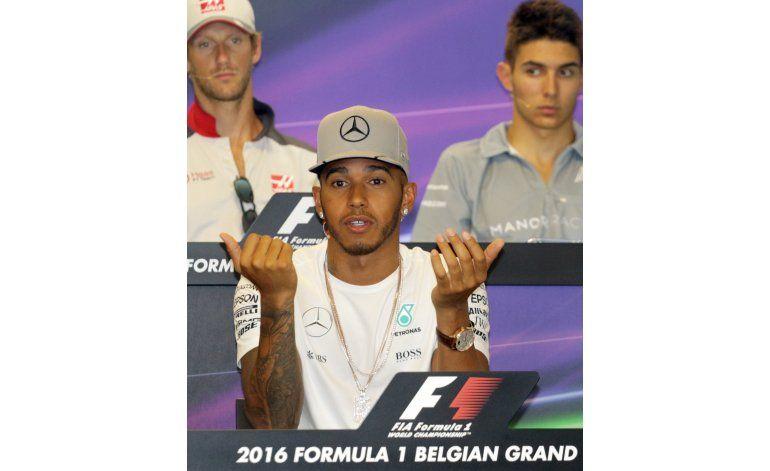 Rosberg busca aprovechar castigo a Hamilton en GP de Bélgica
