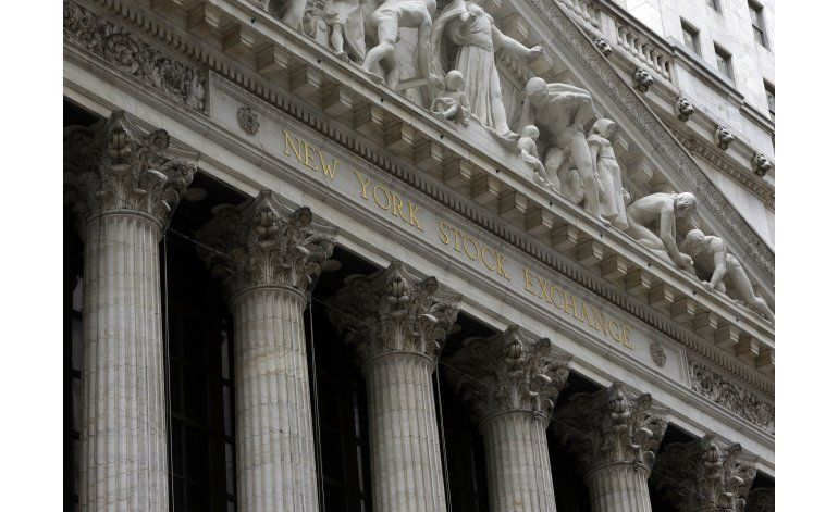 Sector salud arrastra a la baja a la Bolsa de Nueva York