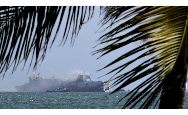 Incendio en ferry interrumpió un lazo P. Rico-Dominicana