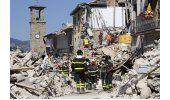 Cierran caminos dañados por sismo en Italia; siguen réplicas