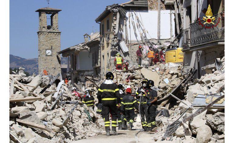 Italia: poblado de Amatrice corre riesgo de quedar aislado
