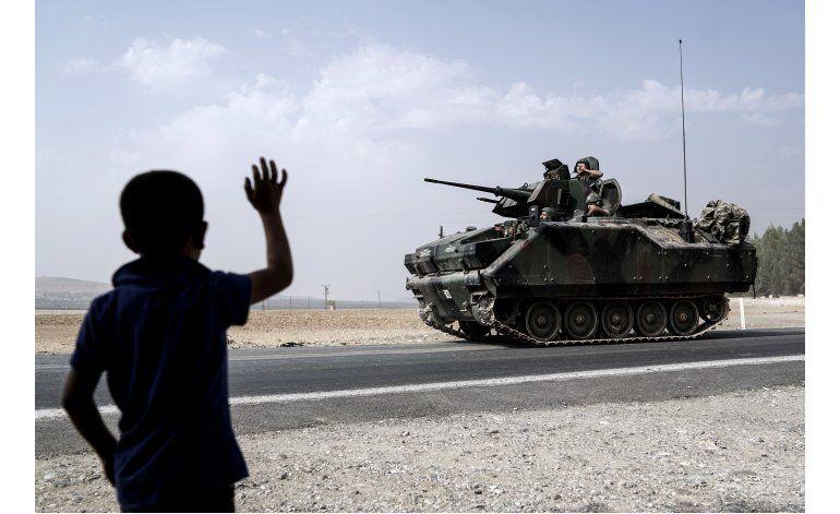 Gobierno turco promete continuar operación militar en Siria