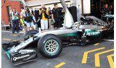 Rosberg, el más rápido en primeros entrenamientos de Bélgica