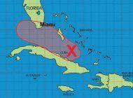 fuerte onda tropical continua su paso hacia el sur de florida